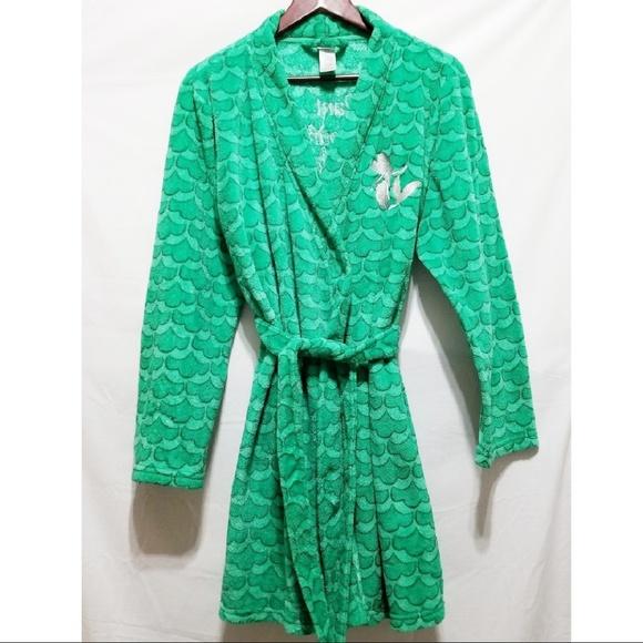 3901782247008 Disney Pajamas | Little Mermaid Ariel Green Robe | Poshmark